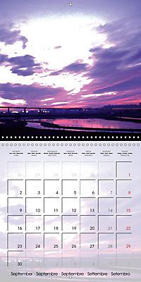 WARE on the River Lea (Wall Calendar 2019 300 × 300 mm Square) - Produktdetailbild 9