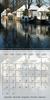WARE on the River Lea (Wall Calendar 2019 300 × 300 mm Square) - Produktdetailbild 12