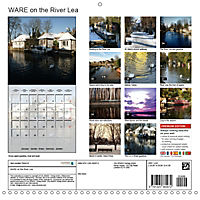 WARE on the River Lea (Wall Calendar 2019 300 × 300 mm Square) - Produktdetailbild 13