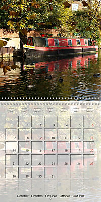 WARE on the River Lea (Wall Calendar 2019 300 × 300 mm Square) - Produktdetailbild 10