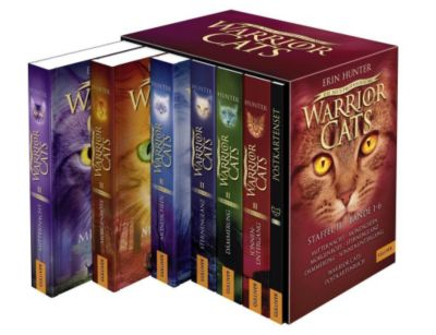 Warrior Cats - Die neue Prophezeiung, 6 Bde., Erin Hunter