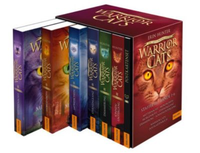 Warrior Cats: Warrior Cats. Die neue Prophezeiung. Bände 1-6, Erin Hunter