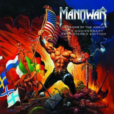 Warriors Of The World-10th A, Manowar