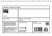 Warschau - Zentrum von Polen (Tischkalender 2019 DIN A5 quer) - Produktdetailbild 13