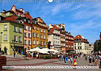 Warschau - Zentrum von Polen (Wandkalender 2019 DIN A3 quer) - Produktdetailbild 2