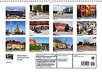 Warschau - Zentrum von Polen (Wandkalender 2019 DIN A3 quer) - Produktdetailbild 9