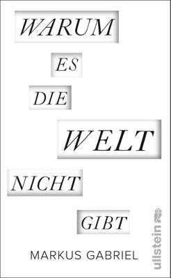 Warum es die Welt nicht gibt - Markus Gabriel pdf epub