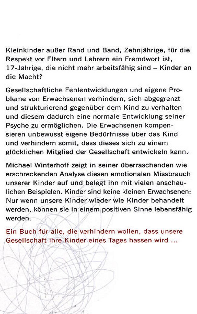 Warum unsere Kinder Tyrannen werden Buch portofrei - Weltbild.de