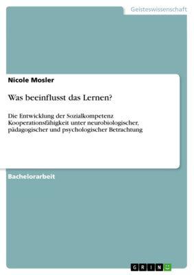 Was beeinflusst das Lernen?, Nicole Mosler