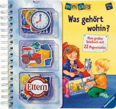 Was gehört wohin?, m. 22 Magnetteilen, Irmgard Eberhard