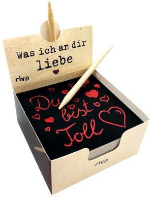 Was ich an dir liebe - Der Kratzblock für liebevolle Botschaften - Alexandra Reinwarth pdf epub