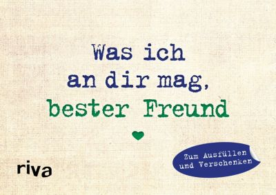 Was ich an dir mag, bester Freund - Miniversion - Alexandra Reinwarth |