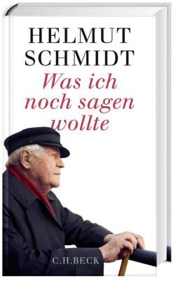 Was ich noch sagen wollte, Helmut Schmidt