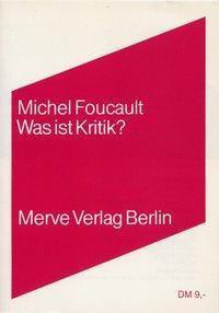 Was ist Kritik?, Michel Foucault