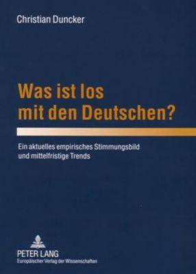 Was ist los mit den Deutschen?, Christian Duncker