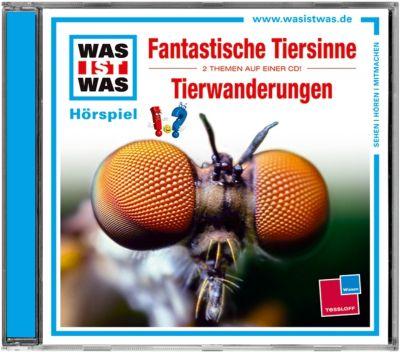 Was ist Was: Fantastische Tiersinne/ Tierwanderungen, Manfred Baur