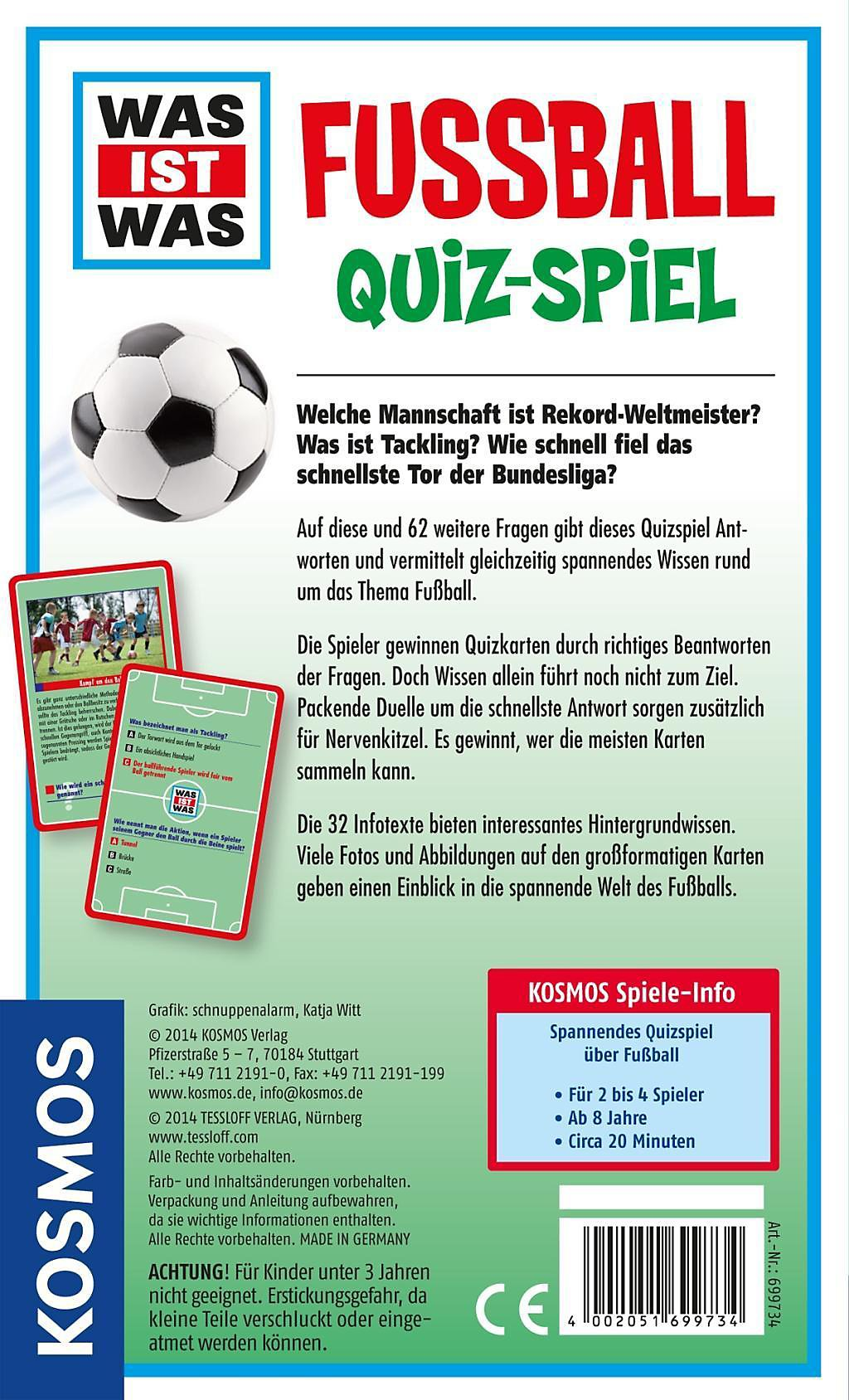 Was Ist Was Fussball Quiz Spiel Kinderspiel Weltbild Ch