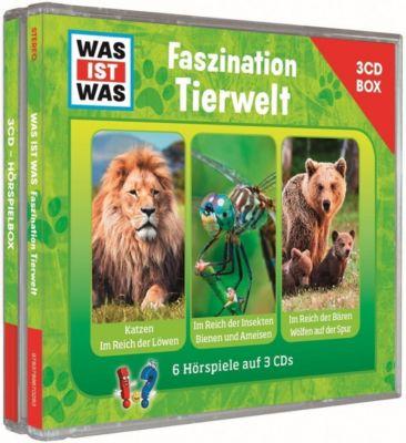Was ist was Hörspielbox: Faszination Tierwelt, 3 Audio-CDs, Was Ist Was