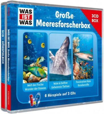 Was ist was Hörspielbox: Große Meeresforscher-Box (3 CDs)