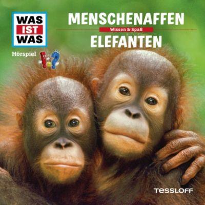 WAS IST WAS Hörspiele: WAS IST WAS Hörspiel: Menschenaffen/ Elefanten, Kurt Haderer