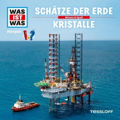 WAS IST WAS Hörspiele: WAS IST WAS Hörspiel: Schätze der Erde/ Kristalle, Manfred Baur