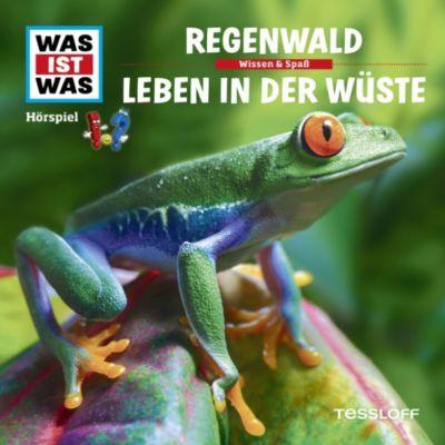 WAS IST WAS Hörspiele: WAS IST WAS Hörspiel: Der Regenwald/ Wüsten, Kurt Haderer
