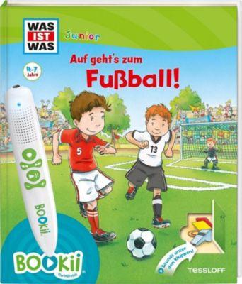 Was ist was Junior: Auf geht's zum Fussball!, Andrea Beständig, Claudia Kaiser, Martin Lickleder