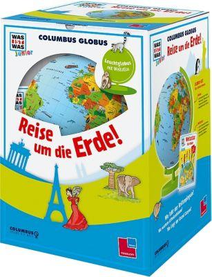 WAS IST WAS Junior Columbus Globus Reise um die Erde!