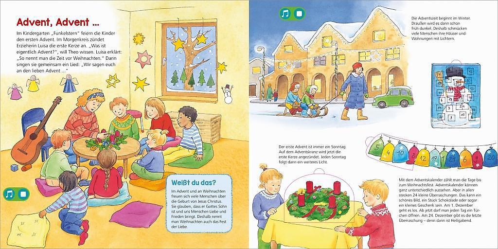 Kindergarten Weihnachten.Was Ist Was Kindergarten Frohe Weihnachten Buch Portofrei