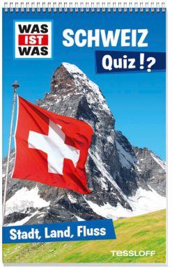 Was ist was Schweiz Quiz!? - Stadt, Land, Fluss