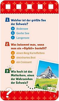 Was ist was Schweiz Quiz!? - Stadt, Land, Fluss - Produktdetailbild 1