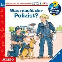 Was macht der Polizist?, 1 Audio-CD, Andrea Erne