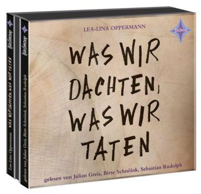 Was wir dachten, was wir taten, 3 Audio-CDs, Lea-Lina Oppermann