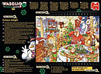 Wasgij Christmas 12 - Truthahn im Glück - 1000 Teile Puzzle - Produktdetailbild 2