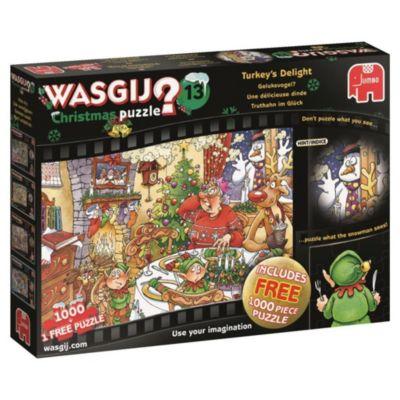 Wasgij Christmas 12 - Truthahn im Glück - 1000 Teile Puzzle