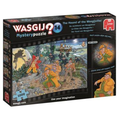 Wasgij Mystery 14 - Der Hund von Wasgijville - 1000 Teile Puzzle