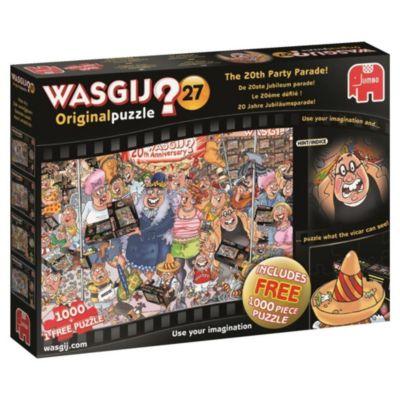 Wasgij Original 27 - 20 Jahre Jubiläumsparade - 2 x 1000 Teile Puzzle