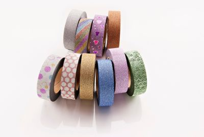Washi-Tapes Glitter, 10er-Set