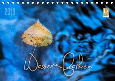 Wasser-Farben (Tischkalender 2019 DIN A5 quer), Heike Odermatt
