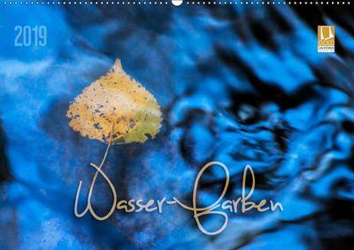 Wasser-Farben (Wandkalender 2019 DIN A2 quer), Heike Odermatt