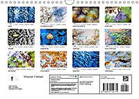 Wasser-Farben (Wandkalender 2019 DIN A4 quer) - Produktdetailbild 13