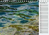 Wasser Flächen (Tischkalender 2019 DIN A5 quer) - Produktdetailbild 11