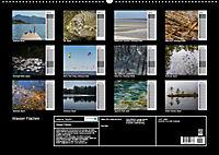 Wasser Flächen (Wandkalender 2019 DIN A2 quer) - Produktdetailbild 13