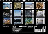 Wasser Flächen (Wandkalender 2019 DIN A4 quer) - Produktdetailbild 13