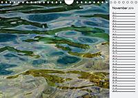 Wasser Flächen (Wandkalender 2019 DIN A4 quer) - Produktdetailbild 11
