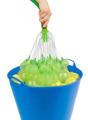 Wasserbomben EASYmaxx Wasserballonfabrik Basisset 220 Ballons 8tlg. grün/gelb