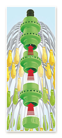 Wasserbomben EASYmaxx Wasserballonfabrik Basisset 220 Ballons 8tlg. grün/gelb - Produktdetailbild 1
