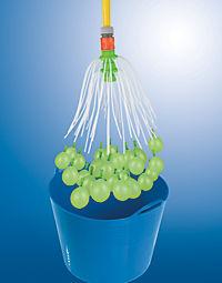 Wasserbomben EASYmaxx Wasserballonfabrik Basisset 220 Ballons 8tlg. grün/gelb - Produktdetailbild 3