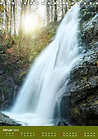 Wasserfälle im bayerischen Oberland (Tischkalender 2019 DIN A5 hoch) - Produktdetailbild 1