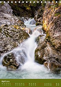 Wasserfälle im bayerischen Oberland (Tischkalender 2019 DIN A5 hoch) - Produktdetailbild 4